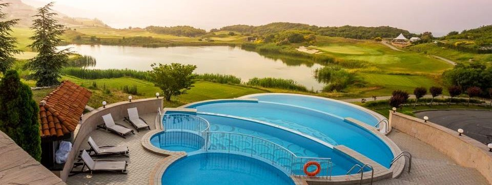 Outdoor Pool Thracian Cliffs Golf Resort