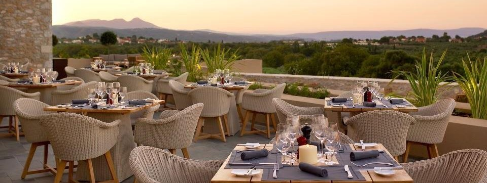 Restaurant The Westin Costa Navarino Golfreise